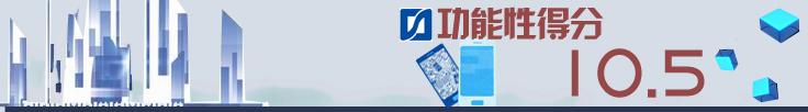 三、功能性测试得10.5分(总分14分):手机银行功能不健全 失分较多
