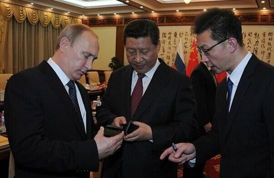 普京将手机送给习大大的深意