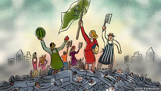 经济学人:银行家损坏了资本主义声誉图片