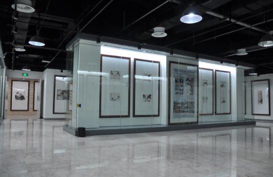 清渭楼美术博物馆内部展厅