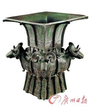 商 四羊方尊(中国国家博物馆藏)