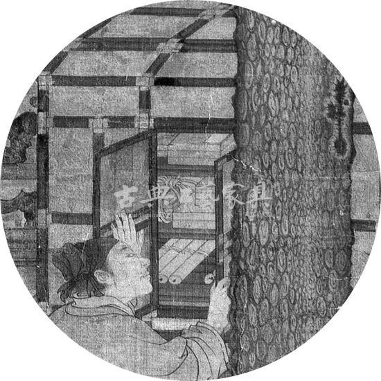 图2-3 刘松年《唐五学士图》(局部)