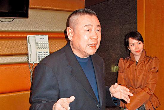 刘銮雄在香港一次媒领会上,2013年1月1日