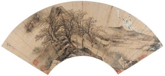 赵左(款)秋山远眺成交价:RMB 172,500