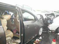沪蓉高速常州段昨25辆车相撞已致3人死亡