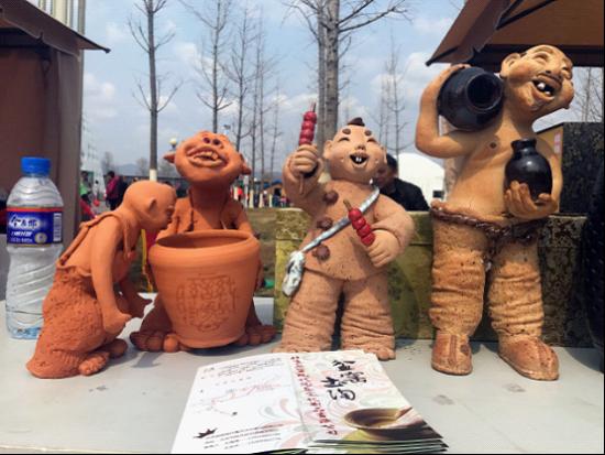 图4 盆窑陶艺展示