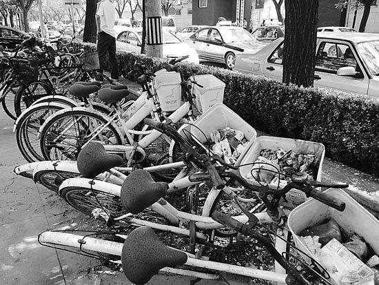 北京自行车租赁情况调查 两租赁模式均推行困难