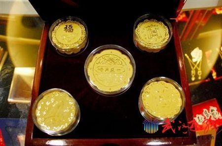 黄金月饼1套47620元畅销市场 多为政府机关送礼
