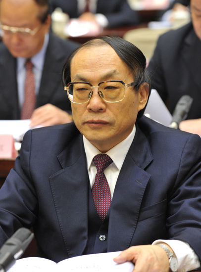 原铁道部长刘志军。(资料图)