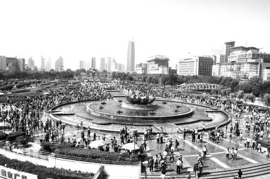 濟南泉城廣場