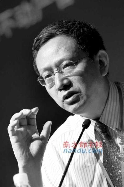 图为财政部财政科学研究所所长贾康。