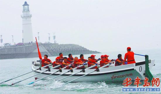 2010中国青岛国际海洋节舢板冠军奖金10万元