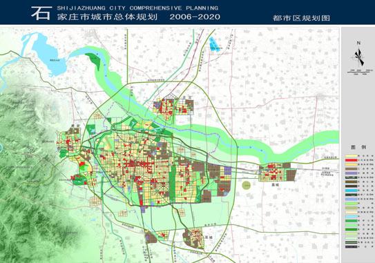 石家庄规划图-石家庄 一座因铁路而崛起的新兴城市