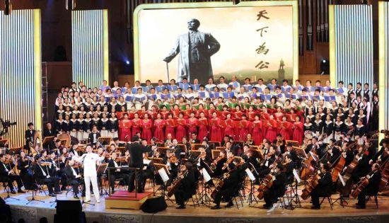 广东推出交响音诗《孙中山》纪念辛亥百年(图)