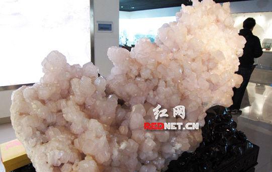 """第二届中国""""观赏石・矿物晶体""""国际论坛在湖南郴州举行"""