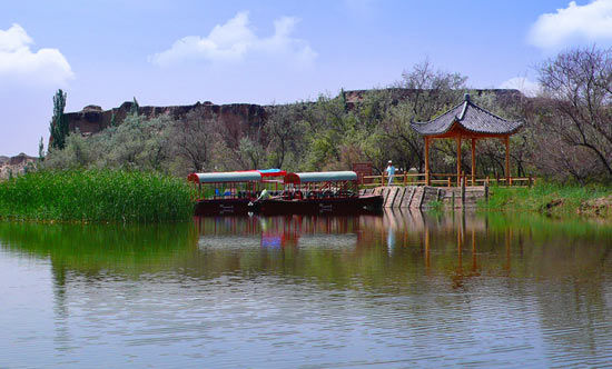 水洞沟遗址旅游区――中国史前考古的发祥地(组图)