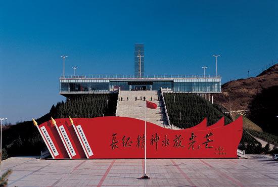 六盘山红军长征纪念馆:永远的红色记忆(组图)