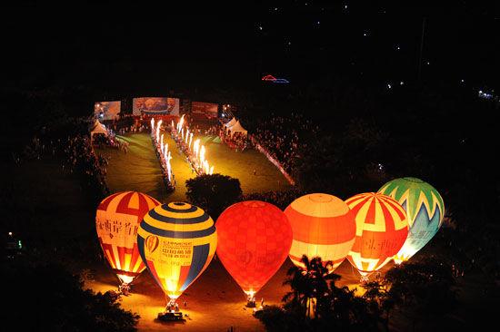 第六届海口热气球节6月9日开幕(组图)