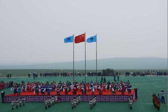 """""""2012多彩西乌珠穆沁――草原民俗风情节""""在西乌旗举行"""