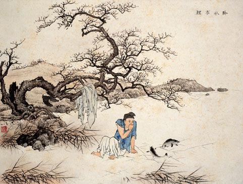 古代二十四孝故事:卧冰求鲤(图)
