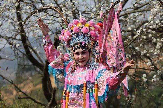 2016广西钦州板城梨花谷文化旅游节开幕