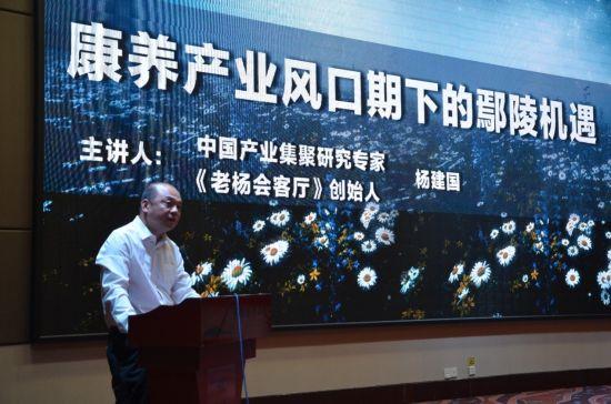 老杨会客厅助力鄢陵康养产业招商市场化