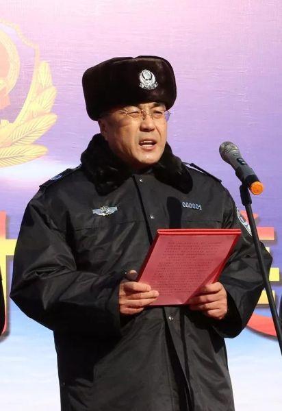 内蒙古自治区马明副主席出席呼和浩特市110宣传日活动