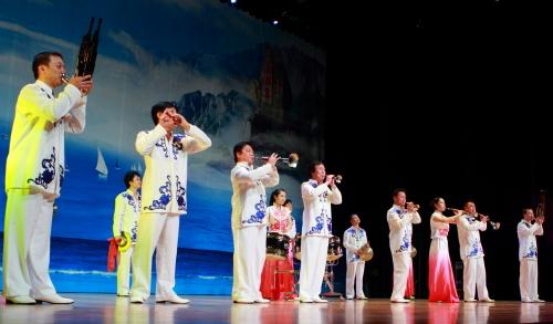 中国馆山东周大型文化演出隆重上演