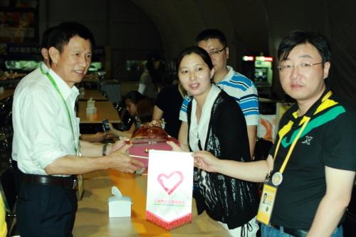 志愿者与上海青年志愿者协会志愿者举行联谊