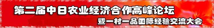 中日农业经济合作高峰论坛