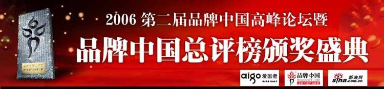 2006品牌中国总评榜