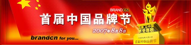 首届中国品牌节