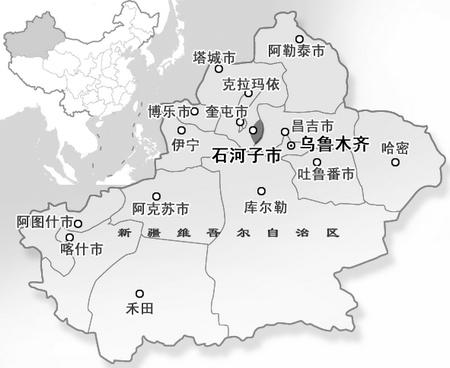 新疆兵团酝酿造城运动:10年再造8个县级市(图)