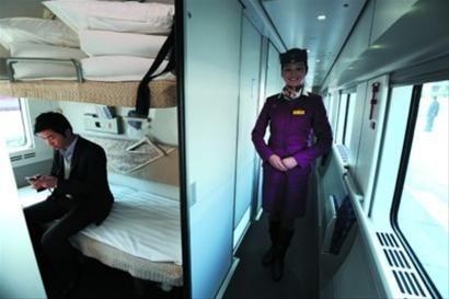 成都至上海动卧上座率过半 3节软卧车厢改软座