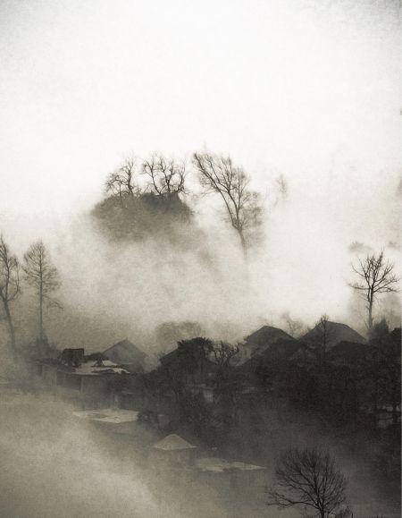 被消失的黑龙江村庄(组图)