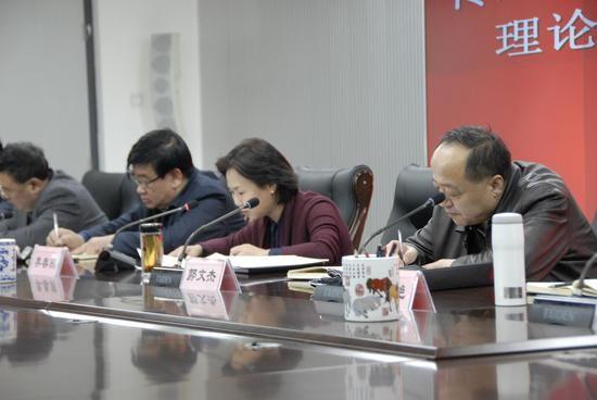 呼和浩特市环保局贯彻落实云光中书记学习讲话精神