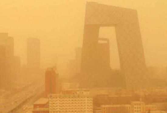 """沙尘天气启示:""""一带一路""""生态需协同治理"""