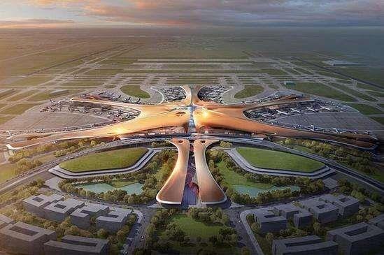 北京新机场曝光:全球最大航空枢纽诞生