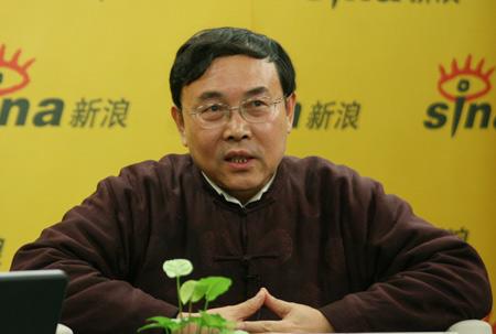 中国经济50人论坛专家成员、北京师范大学经济与资源管理研究所所长李晓西做客新浪