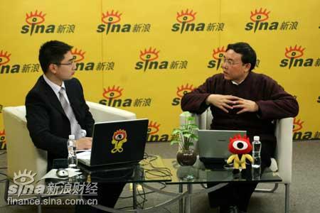 李晓西做客财经中国解析中国与世界互动实录