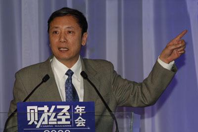 图文:社科院人口与劳动经济研究所所长蔡�P