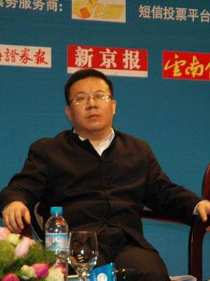 图文:采纳品牌营销顾问机构总经理朱玉童