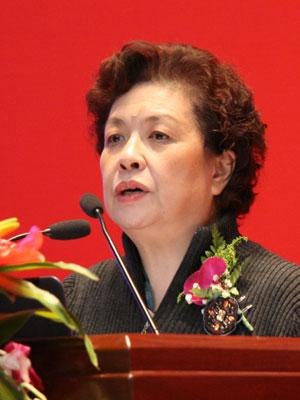 图文:中国市长协会副秘书长陶斯亮发言