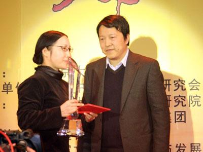 图文:顾江与赵丽娟合影