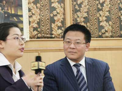 图文:专访苏宁电器股份有限公司总裁孙为民