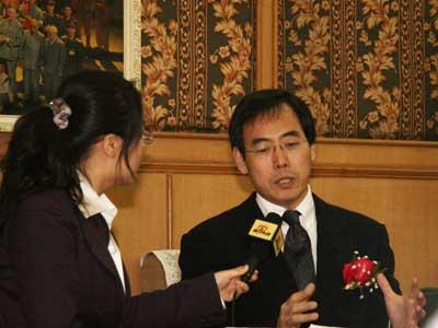 图文:专访诺华中国区总裁李振福