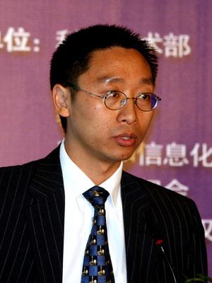图文:纽约证券交易所北京代表处首席代表杨戈