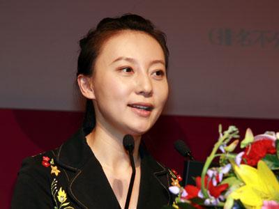 图文:晚宴主持人凤凰卫视主持人刘芳图片