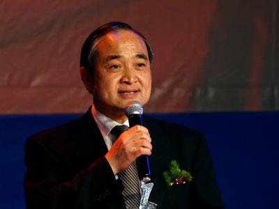 图文:中钢集团总裁黄天文