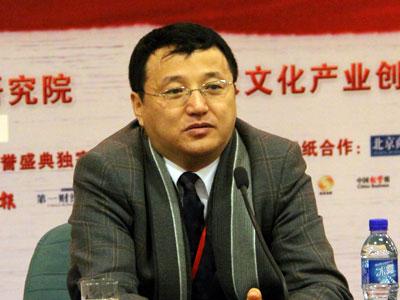 图文:北交文化产业研究中心副主任皇甫晓涛